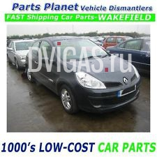08 CLIO 1.2 16V TCE TURBO - PETROL ENGINE D4F786 MOTOR V.GOOD SPARE PARTS INSHOP