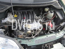 RENAULT SCENIC 2002 1.8 16V ( F4P722/F4P720 ) BREAKING ENGINE BLOCK ONLY